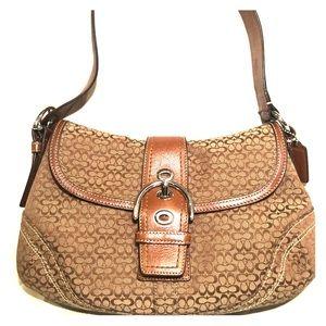 Like NEW COACH SoHo Signature Bag